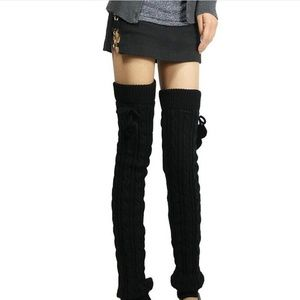 ❤️NEW Sexy Knit Over the Knee Leg Warmer Stockings